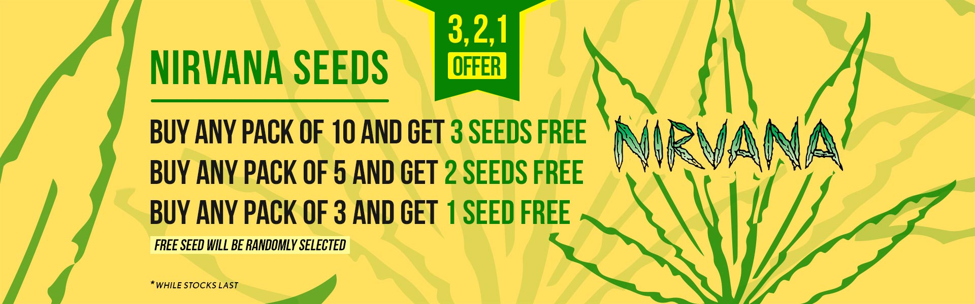 Nirvana Seeds Promotions